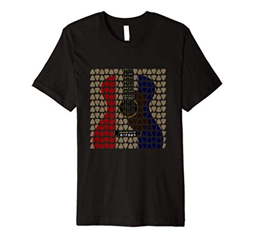 Rock Band Gitarre Retro Vintage Pic T Shirt