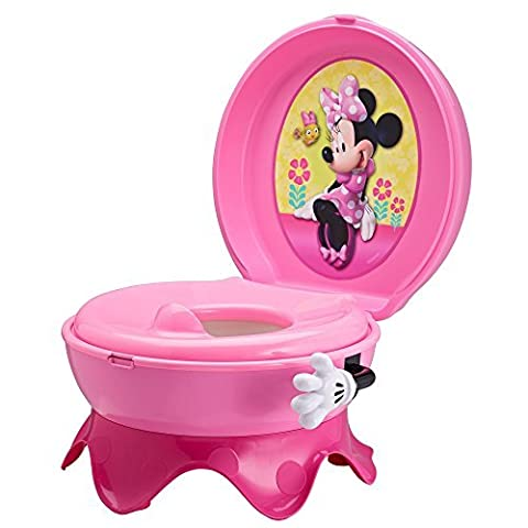 The First Years 3-in-1 Potty System, Minnie Mouse by The First Years (English Manual)