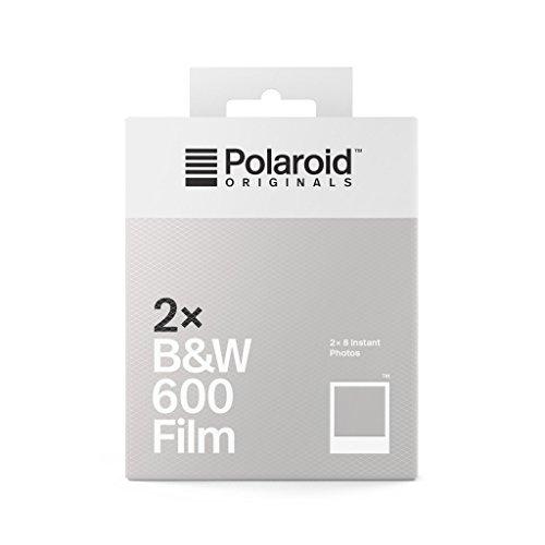 Polaroid Originals  B&W Film für 600 Doppelpack - Weißer Rahmen