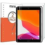 Amazon Brand - Eono [2 Piezas] Protector de Pantalla para iPad 10.2 (iPad 8.a generación/iPad 7.a generación),Cristal Templad