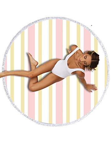 Abby Girls Strandtücher Tragbar Sand Proof Ultraleicht und Schnelltrocknend Ideal als Strandtuch, Reisetuch, Saunatuch, Badetuch,Picknick 150x150cm Rechteckig Bunt -