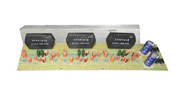 Genius STK4141 Power Amplifier Board, 5 1 , 1200 Watt: Amazon in