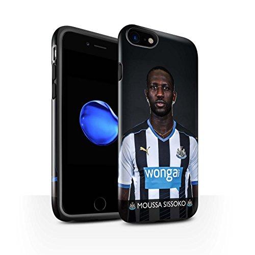 Offiziell Newcastle United FC Hülle / Glanz Harten Stoßfest Case für Apple iPhone 7 / Shelvey Muster / NUFC Fussballspieler 15/16 Kollektion Sissoko