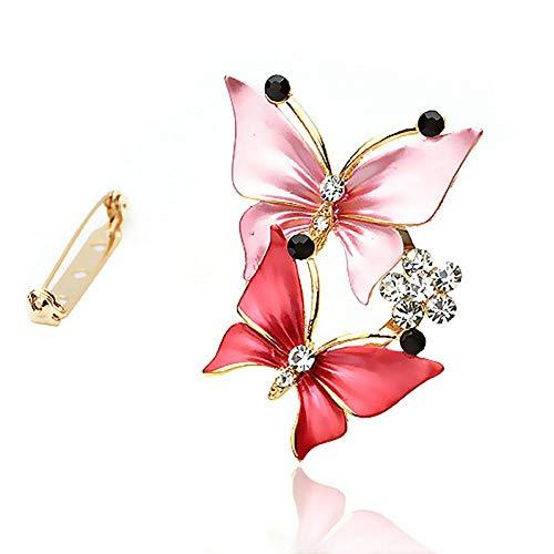 PCBDFQ Brosche Elegante kristall Blume schal Schnalle brosche anstecknadel Kragen pins Abzeichen für Kleidung Ornament -