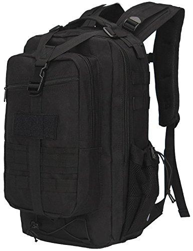 Il camuffamento Alpinismo Pack zaino borsa a tracolla 47*26*23cm, jungle Digital Nero