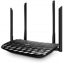 TP-Link Archer C6 - AC1200 Router inalámbrico Gigabit, WiFi MU-MIMO de Banda Dual, Modo Multi, 4 Antenas, 4 Puertos LAN de 1000/100/10 Mbps, 1 Puerto WAN de 1000/100/10 Mbps