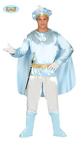 Guirca Costume Principe Azzurro Adulto, Colore Bianco, 88177