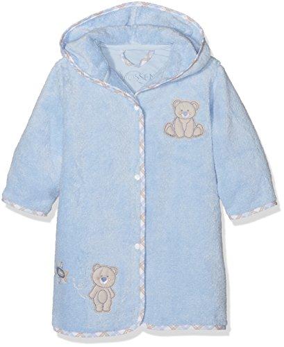 Vossen Teddy Peignoir, Bleu (Blue), Taille Unique Mixte bébé
