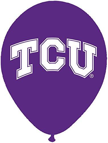 ny 10zählen TCU Latex Ballon, 27,9cm Multicolor ()