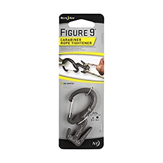Nite Ize Figure 9 Carabiner Tensores y reemplazadores de Nudos, Hombres, Negro, M (B0017HGNSI) | Amazon price tracker / tracking, Amazon price history charts, Amazon price watches, Amazon price drop alerts