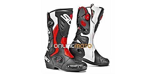 Sidi Roarr schwarz/rot-Flo-Motorrad-Boot