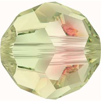 Original Swarovski Elements Beads 5000 MM 4,0 - Rose Peach (262) ; Diameter in mm: 4.0 ; Packing Unit: 720 pcs. Crystal Luminous Green (001 LUMG)