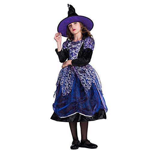 HSKS Halloween-Kostüm, kleine Hexe, Cosplay-Kostüm, für alle Arten von - Arten Von Hexe Kostüm