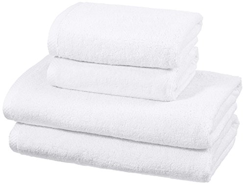 amazonbasics-quick-dry-towel-set-2-bath-and-2-hand-white