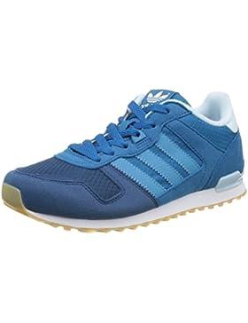 adidas ZX 700 J, Zapatillas de Deporte para Niños, Azul (Azuuni/Azuart / Ftwbla), 38 EU