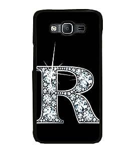 Printvisa Ultra Alphabet R 2D Hard Polycarbonate Designer Back Case Cover for Samsung Galaxy ...