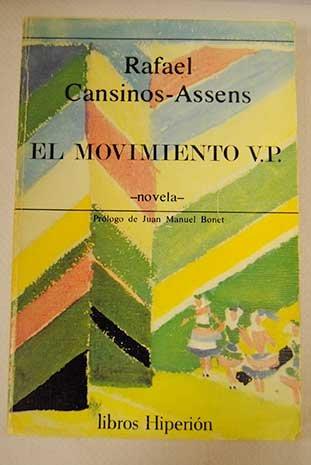 El movimiento VP (Libros Hiperión) por Rafael Cansinos Assens