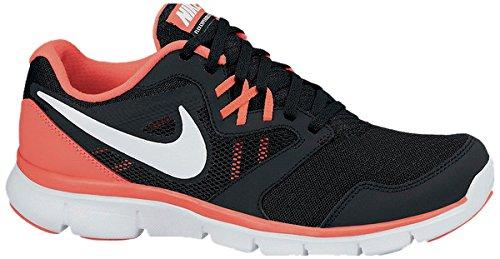 Nike Flex Experience 3, Chaussures de Running Compétition fille Multicolore - Noir/rouge/blanc