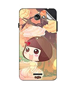 instyler MOBILE STICKER FOR COOLPAD 5891Q