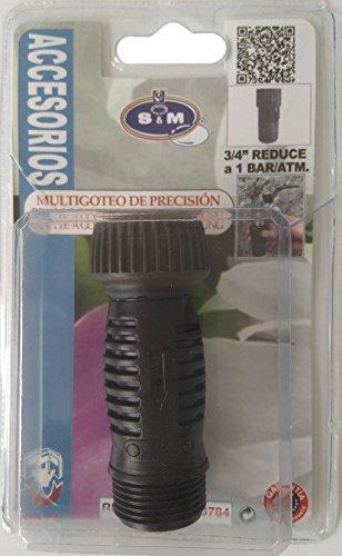 S&M 543784 Reductor de Presión a 1 ATM. M-H 3/4