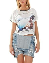 T-shirt court imprimé