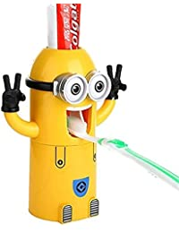Minions Toothbrush Holder - Automatic Toothpaste Dispenser Buy 1 Get 1 FREE !!!!!