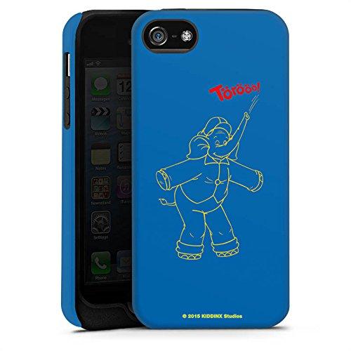 Apple iPhone X Silikon Hülle Case Schutzhülle Benjamin Blümchen Fanartikel Merchandise TÖRÖÖÖ! Tough Case matt