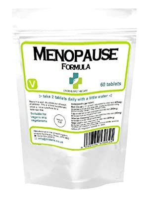 Menopause formula, Red Clover, Liquorice, Sage Leaf from Lindens