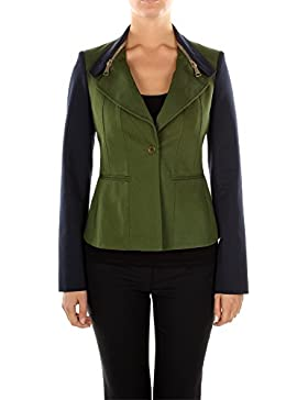 12P3013160343 Givenchy Chaqueta Mujer Algodón Verde