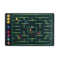 Orediy Soft Rugs Cute Monster Maze Game Lightweight Area Rugs Kids Playing Floor Mat Non Slip Yoga Rug for Living Room Bedroom