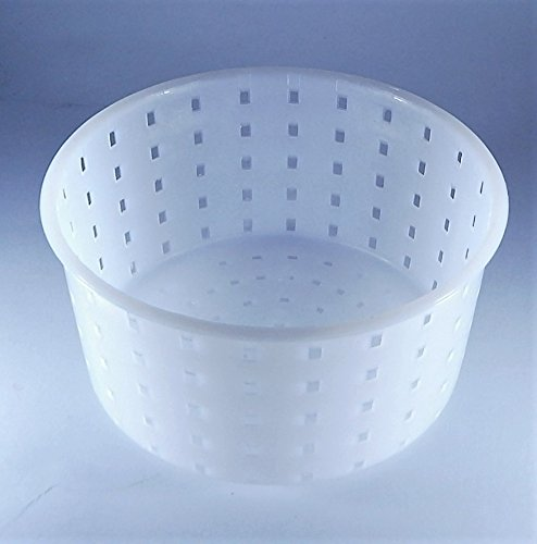 Käseform 0.9kg - 13x7cm Caciotta - Käseformen | Korb | Käseherstellung | Lab