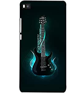 HUAWEI P8 GUITAR Back Cover by PRINTSWAG