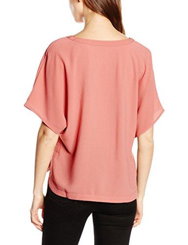 Only Damen T-Shirt Onldhaka S/S Top Wvn Rosa (Faded Rose)
