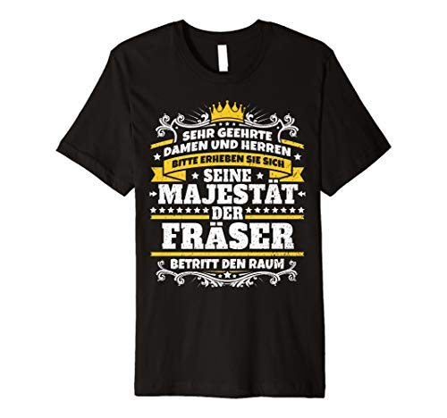 Lustiges Fräser Geschenk I Werkstatt Kollege Beruf T-Shirt -