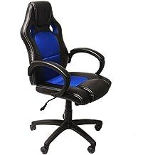 NAWA Silla Gaming de Ordenador Silla Gamer. Cadeira de Escritório. Cadeira Gamer Ergonómica de