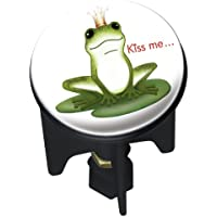 Wenko 20733100 Waschbeckenstöpsel Pluggy® Kiss me - Abfluss-Stopfen, für alle handelsüblichen Abflüsse, Kunststoff, 3.9 x 6.5 x 3.9 cm, Mehrfarbig