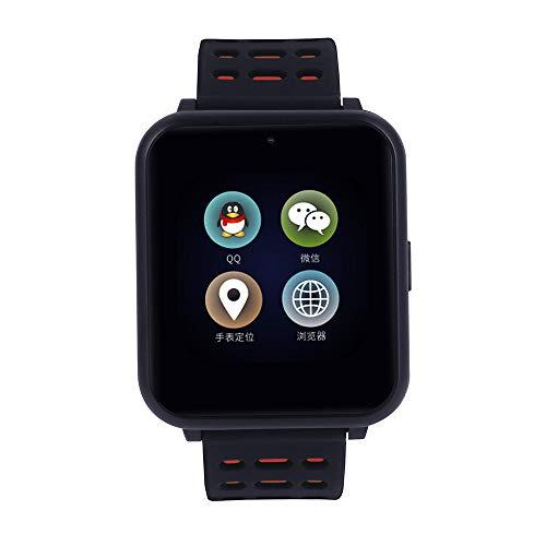 VRTUR intelligente Uhr Herren Damen Smartwatch wasserdichte Sportuhr, Fitness Tracker Pulsuhr Bluetooth4.0 Smart Armband für iOS Android Schwarz