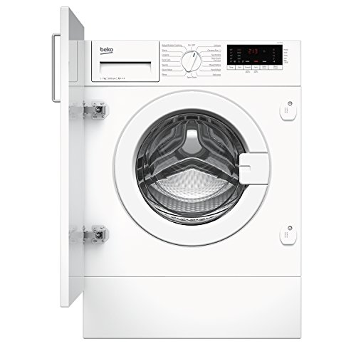 Beko WIY72545 7Kg A+++ 1200 Spin Built In Washing Machine with LED Display