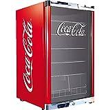 °CUBES Réfrigérateur à bouteilles HighCube Coca-Cola/F - Hauteur : 84,5 cm - 104 kWh/an - Capacité : 115 l