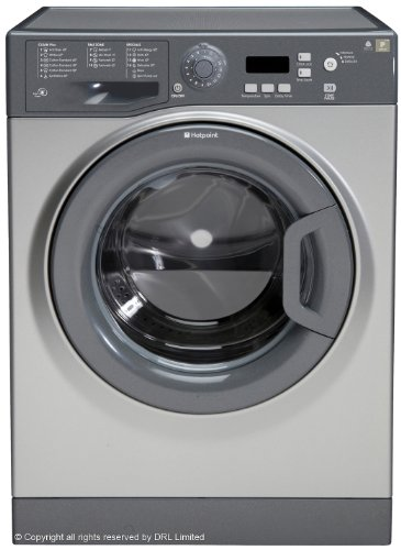 The Hotpoint WMXTF 742G UK Freestanding Washing Machine is a high-tech