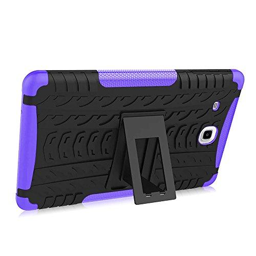 Hand Langlebig Tablet Cover Tablet-Schutzhülle Kratzfest Schale Halterung Halter Unterstützung für Samsung Galaxy Tab E 24,4cm T560/T561 (Gel-fällen Für Samsung-tablets)