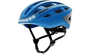Lumos Kickstart casco de ciclismo azul cobalto Talla única