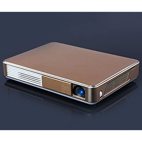 Starlong W10 Android Projector Ultra Slim 3D 720p Smart Home Theater with 6800mAh Bulit-in Battery and LiveTV Service
