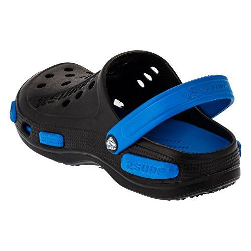 Homens 193sbl Em Tamancos Preto Sapatos Jardim Cores 5 Sapatos Azul Casuais raFr8qw
