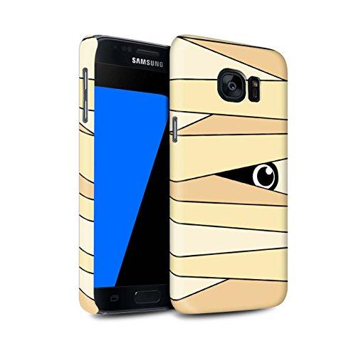 On Hülle/Case für Samsung Galaxy S7/G930 / Mumie Muster/Halloween Zeichen Kollektion ()