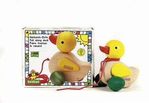 Imagen principal de beeboo The Toy Company 37103  - Pull-Pato