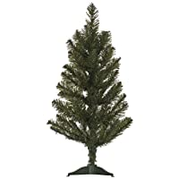 Festive Productions Canadian Pine Christmas Tree, 60 cm - Green