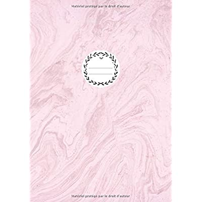 DOT GRID JOURNAL A4: Carnet De Notes Pointillés Pour Bullet Journaling, Lettering, Art Notes | 110 Pages Avec Papier Pointillé | Dotted Notebook Cahier | Marbre Rose