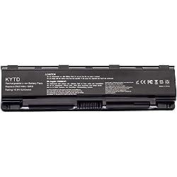 KYTD PA5109U-1BRS Batterie pour Toshiba Satellite C50 C50D C50t C55 C55D C70 C70D C75 C75D L70 P75 C50-A C50D-A C55D-A Ordinateur PC Portable (6 Cellules 5200mAh 11.1V)