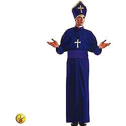 Rubies - Disfraz de obispo para adultos (20204)